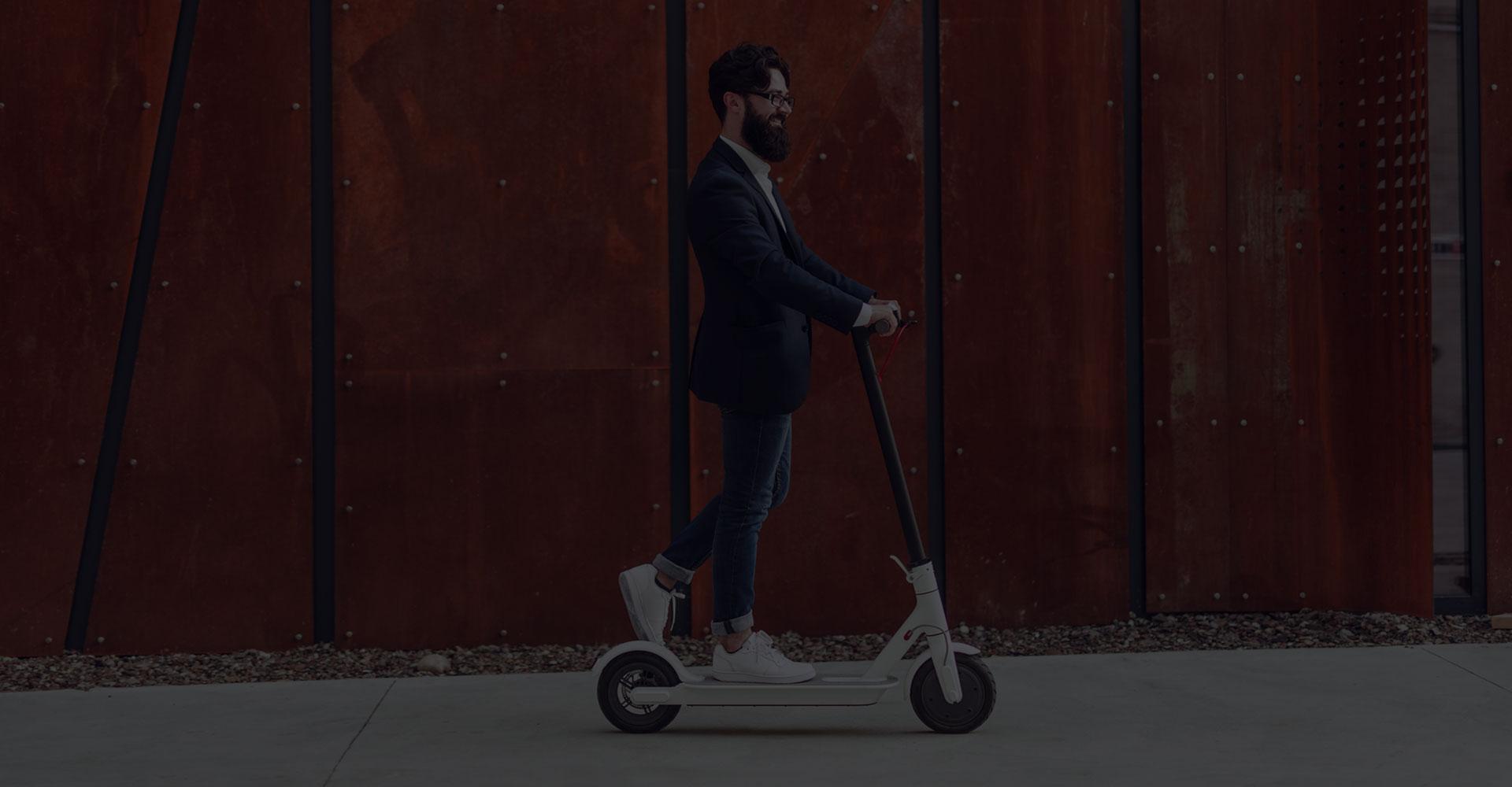 Rouler en patinette électrique